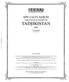 Scott Tadjikistan Album Pages  (1992 - 1997)