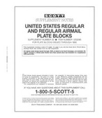 Scott US Regular Plate Blocks Supplement, 1992 - 1995 No. 20