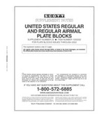 Scott US Regular Plate Blocks Supplement, 2002 No. 23