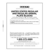 Scott US Regular Plate Blocks Supplement, 2004 - 2005 No. 25