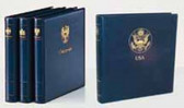 SAFE Blue Yokama Binder With the Great Seal of the United States
