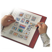 SAFE U.S. Air Mail Issues Hingeless Pages (1918 - 2012)
