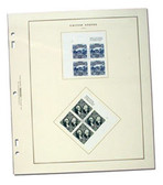 Scott US Regular and Regular Air Plate Block Album, Part 1 (1918 - 1991)
