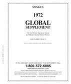 Minkus Worldwide Global Album Supplement for 1972