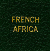 Scott French Africa Specialty Binder Label