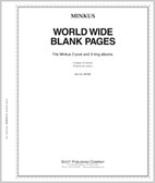 Minkus World Wide Blank Pages