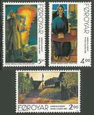 Faroe Islands, Scott Cat Nos. 284 - 286 (Set), MNH