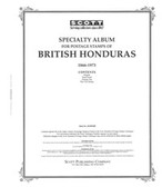 Scott British Honduras  Album Pages (1866 - 1973)