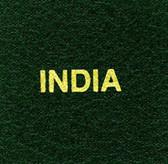 Scott India Specialty Binder Label