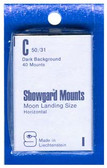 Showgard 50 x 31 mm Pre-Cut Mounts