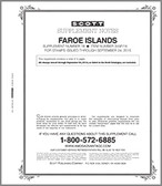 Scott Faroe Islands Stamp Album Supplement, 2012 #16
