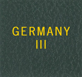Scott Germany III Specialty Binder Label