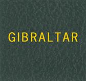 Scott Gibraltar Specialty Binder Label