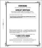 Scott Great Britain Album Supplement 2012 #66