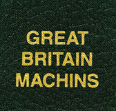 Scott Great Britain Machins Specialty Binder Label