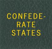 Scott Confederate States Binder Label