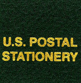 Scott U.S. Postal Stationery Specialty Binder Label
