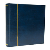 Schaubek Blue Senator Binder for Hingeless Album Pages and Supplements