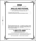 2015 Scott Wallis and Futuna Islands Stamp Album Supplement, No. 18