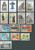Faroe Islands 1989 Year Set, Scott Cat Nos. 186 - 200, MNH