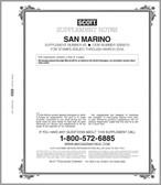 Scott San Marino Stamp Album Supplement, 2015 #65