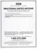 Scott United Nations Minuteman Album Supplement, 2016 #26