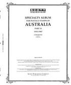 Scott Australia Album Pages, Part 2 (1953 - 1987)
