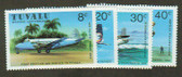 Tuvalu, Scott Catalogue No. 0142 - 145, MNH