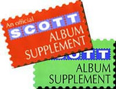 Scott US National Perf Varieties Album Supplement  (1976 - 1998)