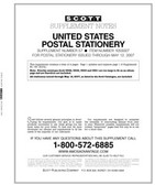 Scott U.S. Postal Stationery Album Supplement, 2000 - 2002, #55