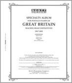 Scott Great Britain Machins Album Pages Part I (1967- 2009)