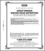 Scott Great Britain Machins Album Supplement 2000 - 2001,  Revised #2A