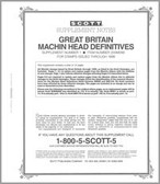 Scott Great Britain Machins Album Supplement 1999,  #1