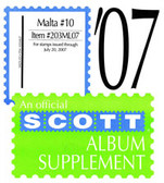 Scott Malta Album Supplement, 2007 #9