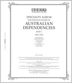 Scott Australia Dependencies Album Pages, Part 1 (1901 - 1976)