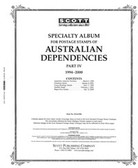 Scott Australia Dependencies Album Pages, Part 4 (1994 - 2000)