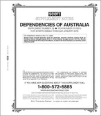 Scott Australia Dependencies Album Supplement, 2012 #25