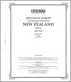 Scott New Zealand Stamp Album Pages, Part 2 (1988 - 1999)