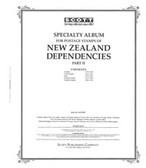 Scott New Zealand Dependencies Stamp Album Pages, Part 2 (1979 - 1985)