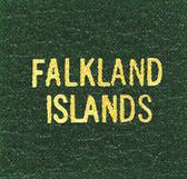 Scott Falkland Islands Specialty Binder Label