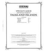 Scott Falkland Islands Stamp  Album, Part I (1878 - 1995)