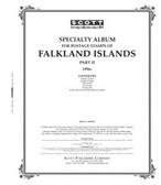 Scott Falkland Islands Stamp  Album, Part 2 (1996 - 2006)