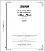 Scott Grenada Stamp  Album, Part 6 (1996 - 1999)