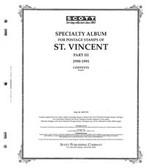 Scott St. Vincent Stamp Album Pages, Part 3 (1990 - 1991)