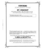 Scott St. Vincent Stamp Album Supplement, 1996 #1