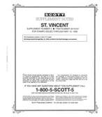 Scott St. Vincent Stamp Album Supplement, 1997 #2