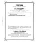 Scott St. Vincent Stamp Album Supplement, 2001 #6