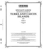 Scott Turks & Caicos Islands Album Pages, Part 3 (1996 - 2004)