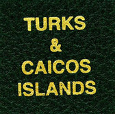 Scott Turks & Caicos Islands Specialty Binder Label
