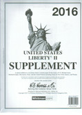 2016 H. E. Harris Liberty II Album Supplement